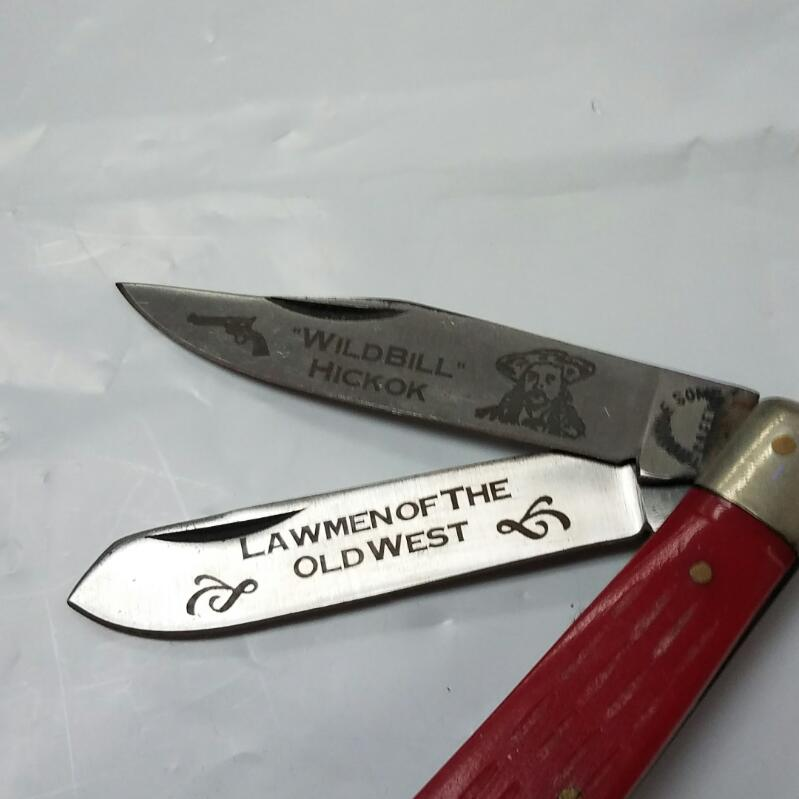 TROUBLE SOME CREEK Pocket Knife WILD BILL HICKOK