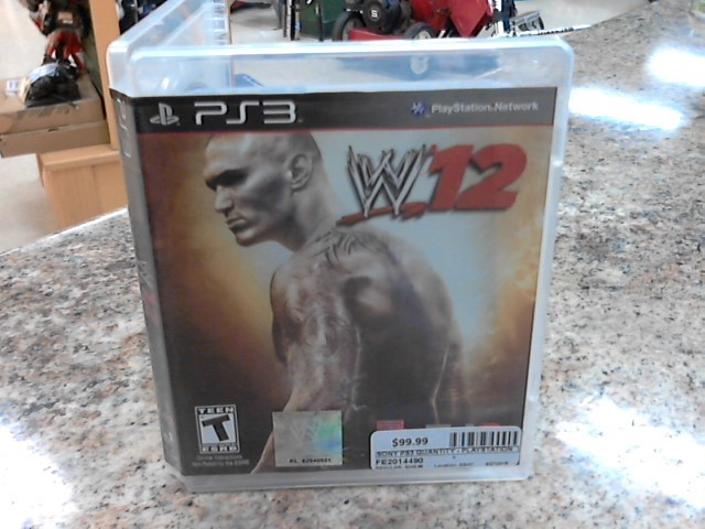 SONY Sony PlayStation 3 Game WWE 12