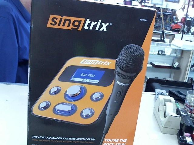 SINGTRIX Karaoke Machine SGTXPB1 Like New   Buya