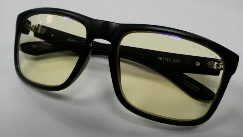 Gunnar Intercept Onyx Black Sunglasses