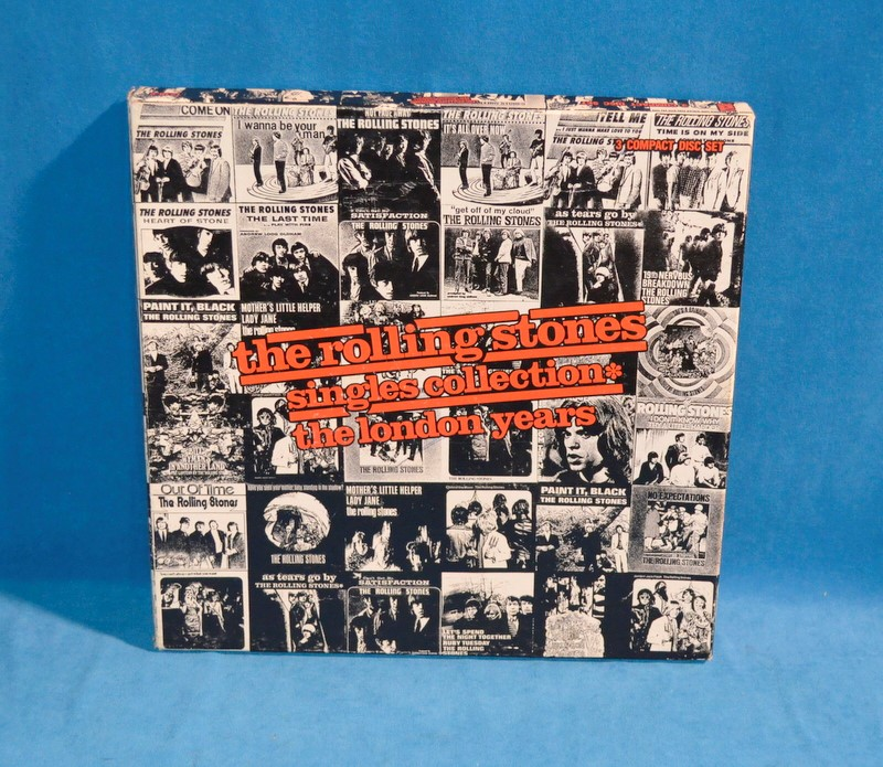 THE ROLLING STONES SINGLES COLLECTION THE LONDON YEARS 3 CD SET