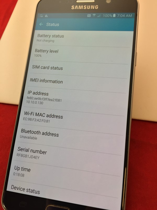 SAMSUNG GALAXY NOTE 5 32GB TMOBILE - SM-N920TKATMB