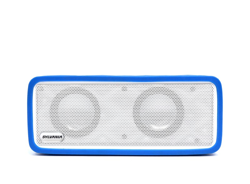 Sylvania Wireless Portable Bluetooth Speaker SP256-C-ASST-PL Blue