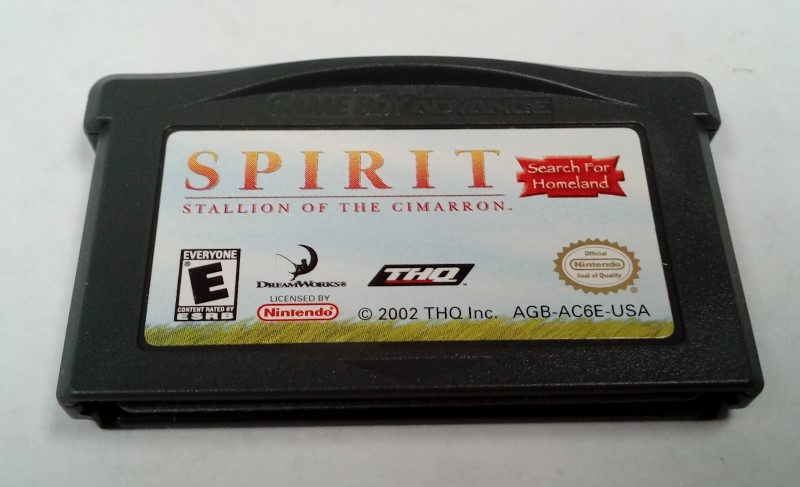 NINTENDO GBA SPIRIT STALLION OF THE CIMARRON **COMPLETE**