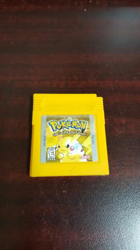 Pokemon Yellow Special Pikachu Edition (Nintendo Gameboy, 1998)