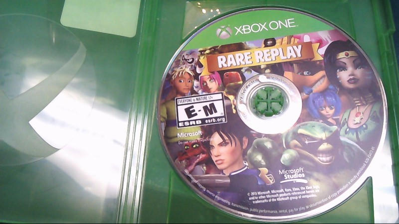 Microsoft XBOX One-RARE REPLAY 30 HIT GAMES ONE EPIC COLLECTION
