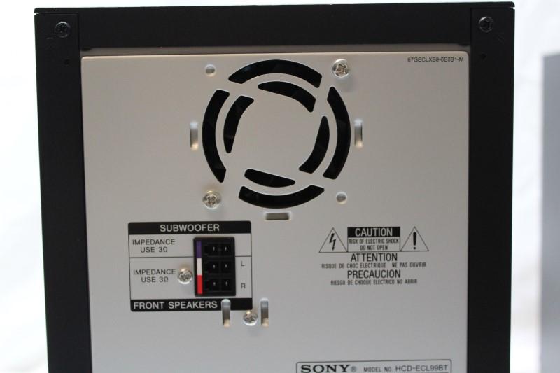 SONY Mini-Stereo MHC-ECL99BT