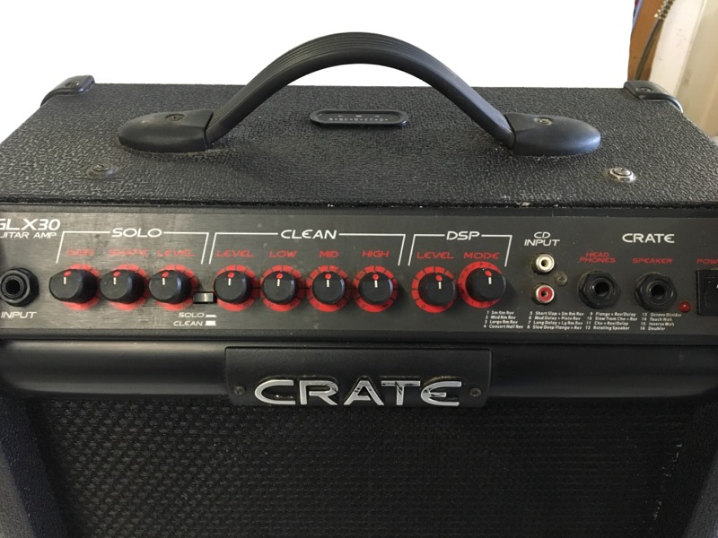CRATE Electric Guitar Amp GLX30 GUITAR AMP