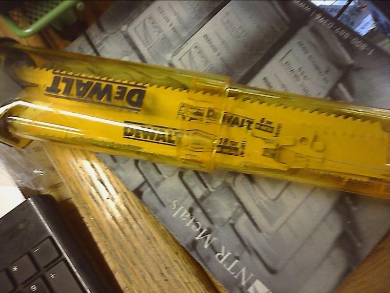 DEWALT Drill Bits/Blades SAWZALL BLADE-SET