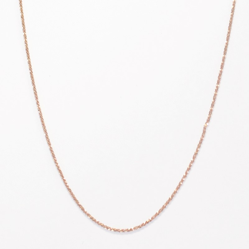 "20"" 14K Rose Gold Fashion Chain 2.88g Fall"