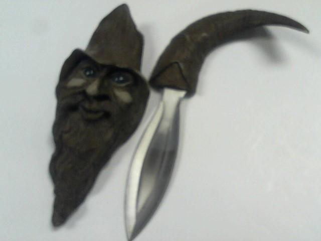 BUD K Display Knife WIZARD DAGGAR
