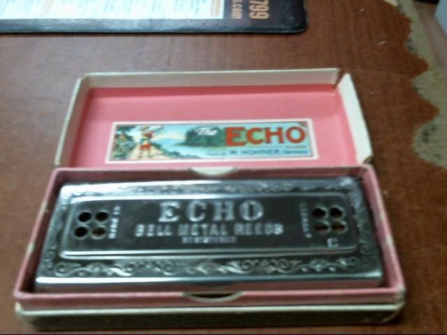 HOHNER THE ECHO HARP C/D