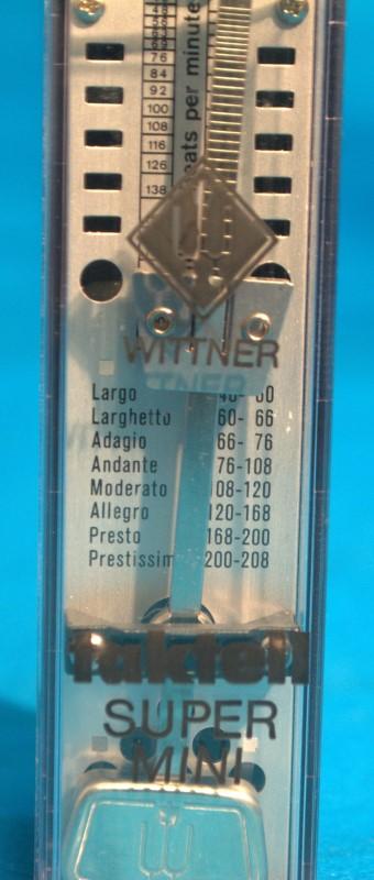 WITTNER Electronic Instrument MAELZEL METRONOME