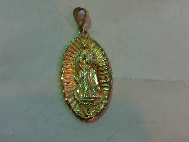 Gold Pendant 14K Yellow Gold 3.4g