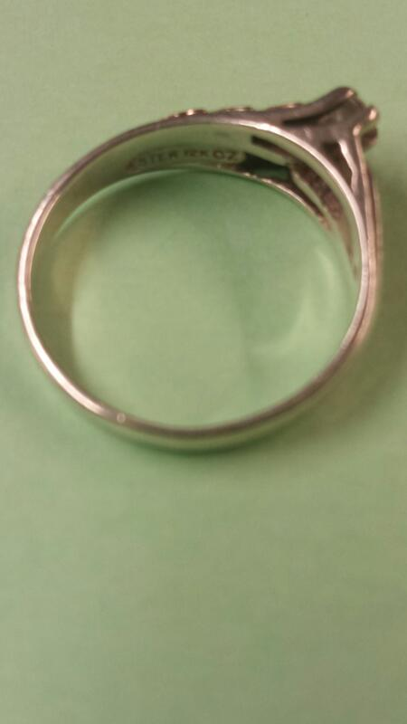 Lady's Silver Ring 925 Silver 1.64dwt