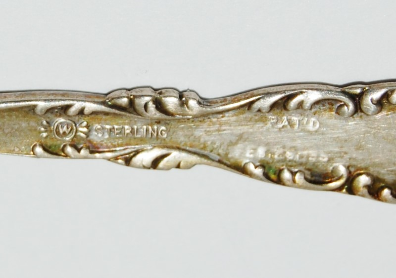 Lot of 3 Neapolitan-Kings Court by Whiting Sterling Silver Demitasse Spoons 1895