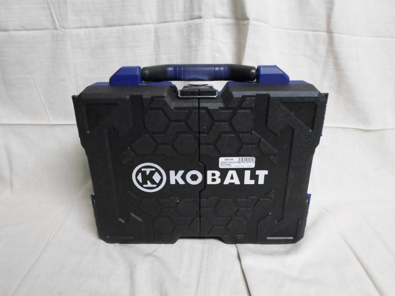KOBALT TOOLS 200 PC TOOLSET IN TRI-FOLD CASE