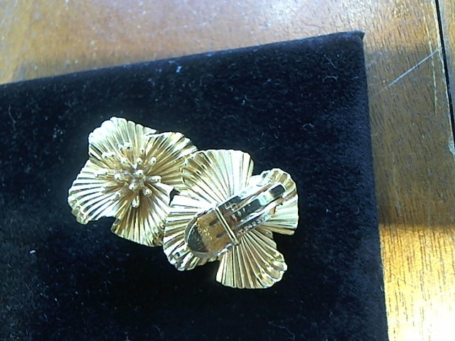 Tiffany & Co. Gold Earrings 14K Yellow Gold 13.8g