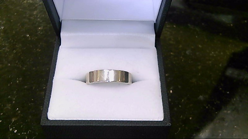 lady's sterling silver 925 sz 6.5 flat band