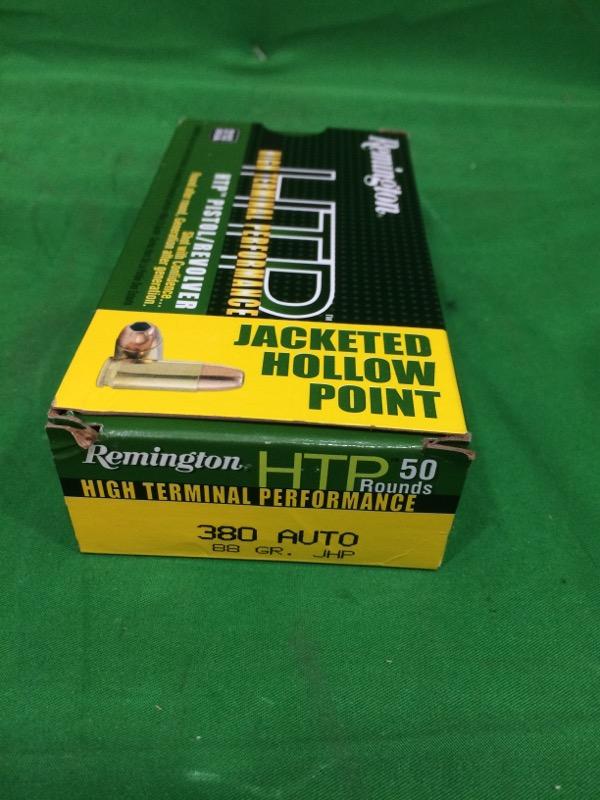 REMINGTON HTP .380 AUTO 88gr JHP