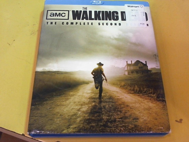 BLU-RAY MOVIE Blu-Ray THE WALKING DEAD SEASON 2 LIMITED EDITION