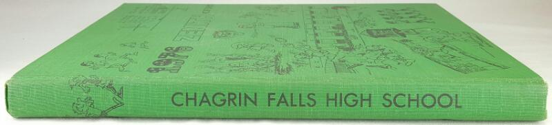 1976 CHAGRIN FALLS YEARBOOK, BILL WATTERSON, CALVIN & HOBBES