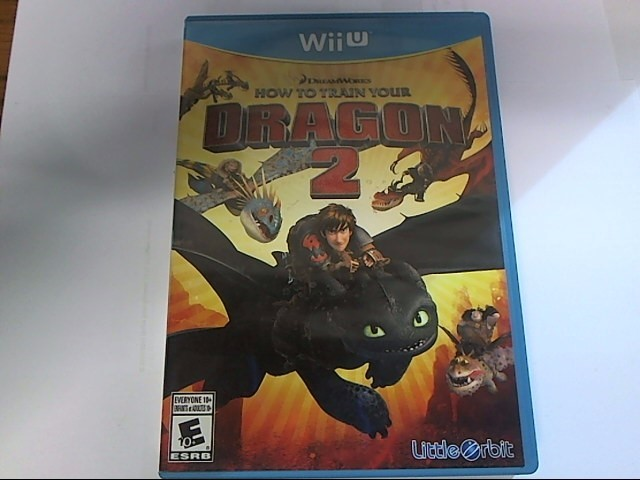 NINTENDO Nintendo Wii U Game HOW TO TRAIN YOUR DRAGON 2