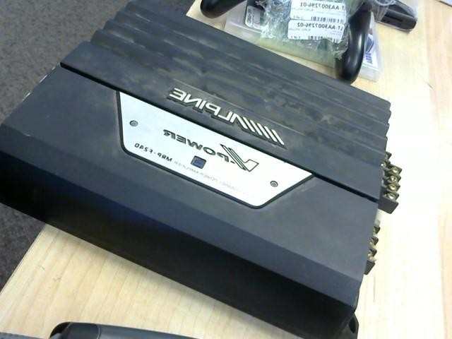 ALPINE ELECTRONICS Car Amplifier MRP-F240
