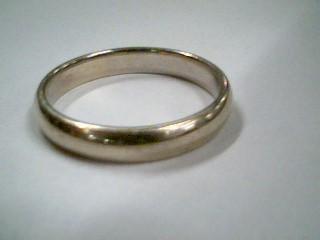 Gent's Gold Wedding Band 14K White Gold 5.2g Size:11.8