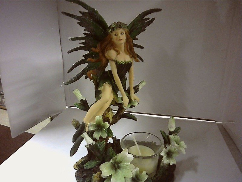 FANTASY GIFTS Figurine FAIRY CANDLE HOLDER