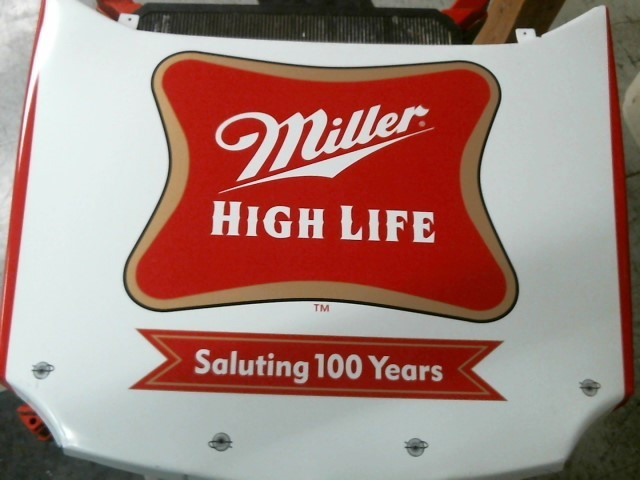 MILLER HIGH LIFE HOOD