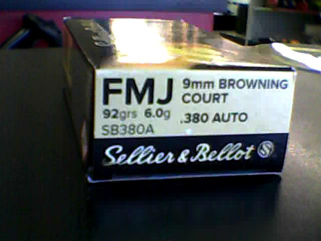 SELLIER & BELLOT Ammunition SB380A