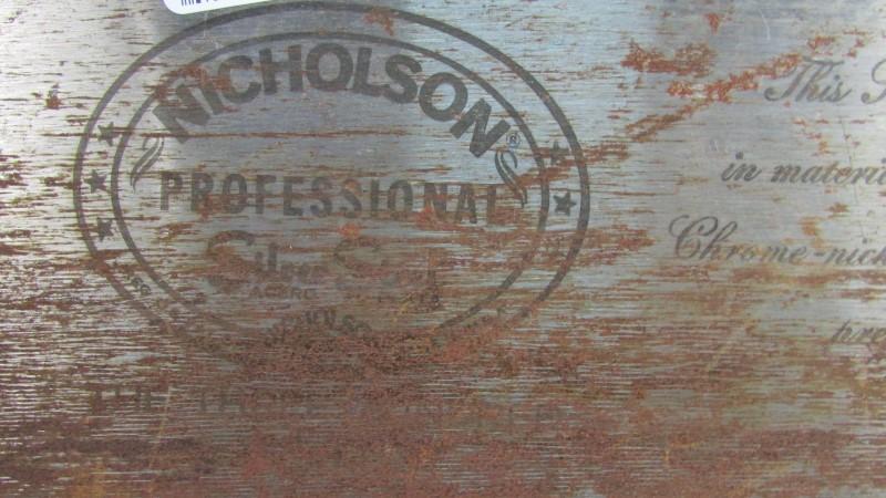 NICHOLSON SILVER STEEL SAW