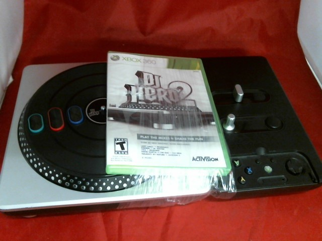 MICROSOFT Microsoft XBOX 360 Game DJ HERO 2