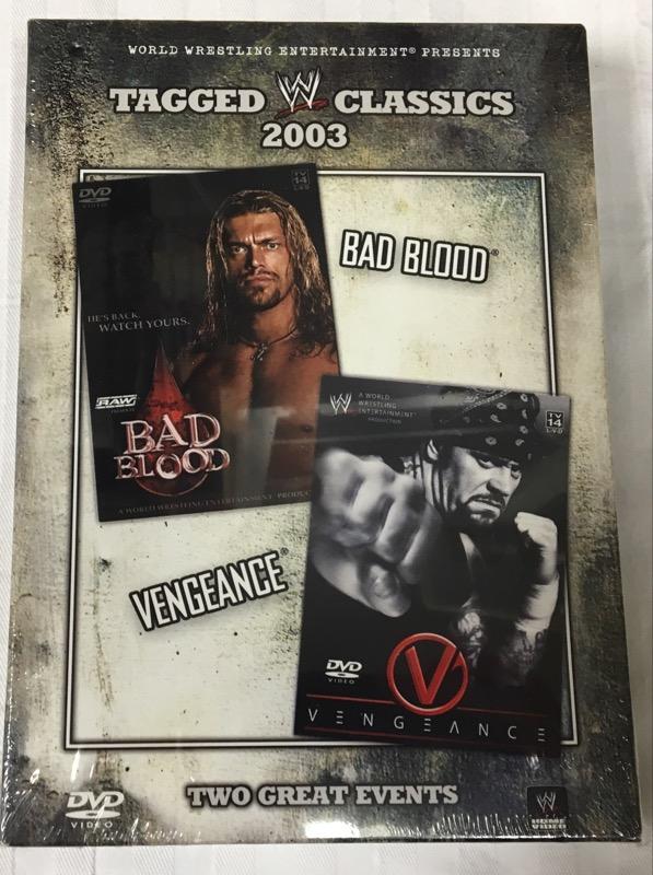 DVD BOX SET TAGGED CLASSICS 2003 BAD BLOOD VENGEANCE