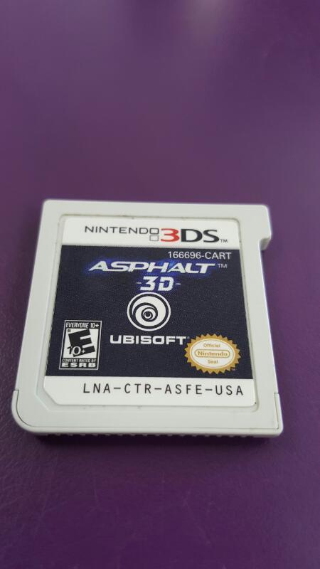 ASPHALT 3D (NINTENDO 3DS) *CARTRIDGE ONLY*