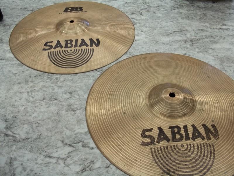 """SABIAN CYMBAL B8 14"""" HI-HATS"""