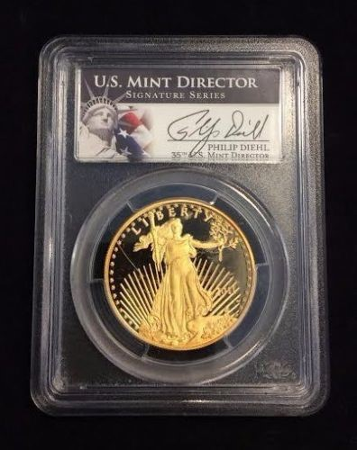 UNITED STATES Gold Coin 2011-W $50 GOLD EAGLE DEEP CAMEO COIN