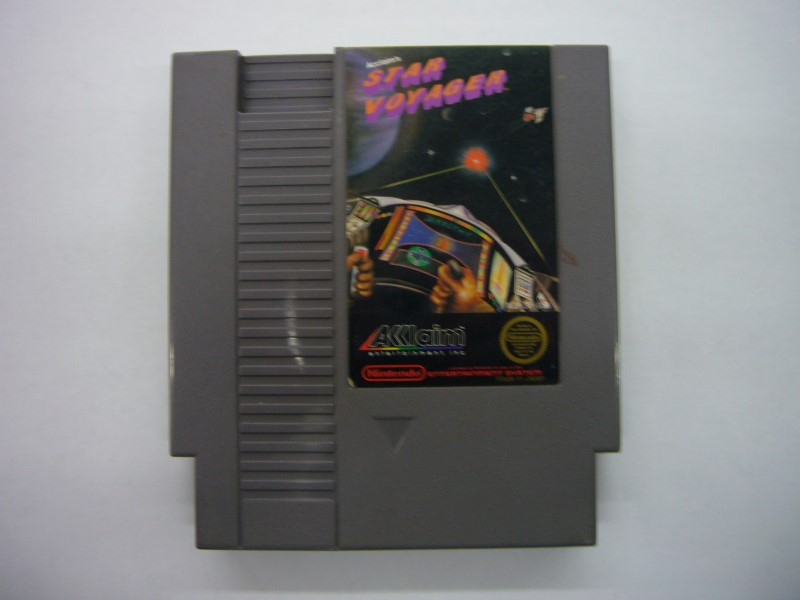 NINTENDO NES Game STAR VOYAGER *CARTRIDGE ONLY*