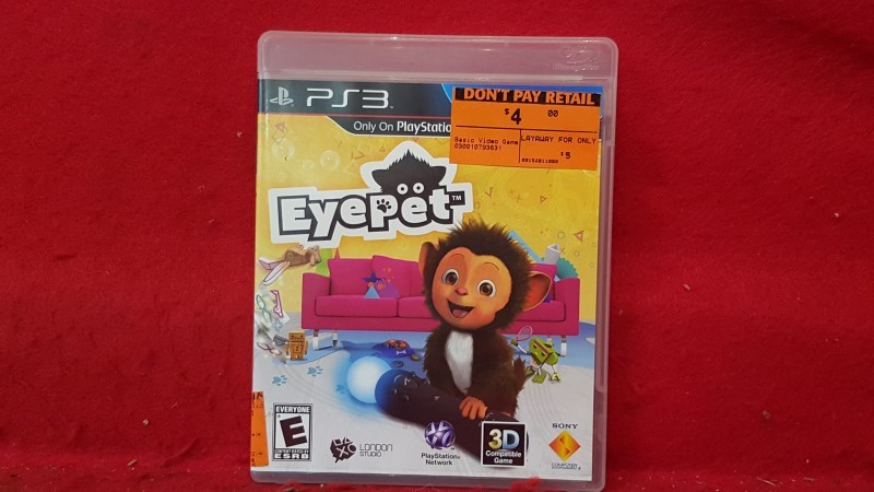 SONY Sony PlayStation 3 Game EYEPET & FRIENDS PS3