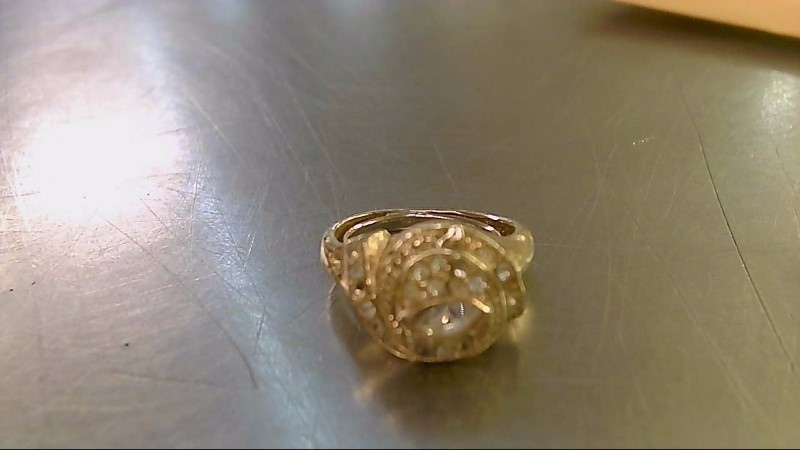 Lady's Ring Silver Stainless 1g