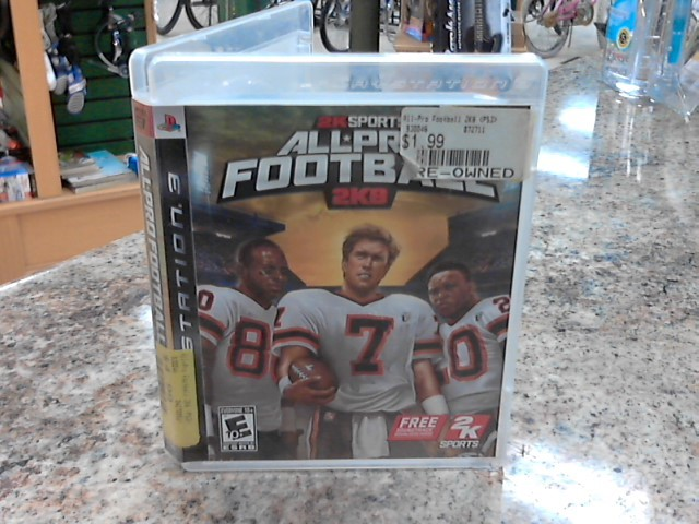 SONY Sony PlayStation 3 Game ALL PRO FOOTBALL 2K8