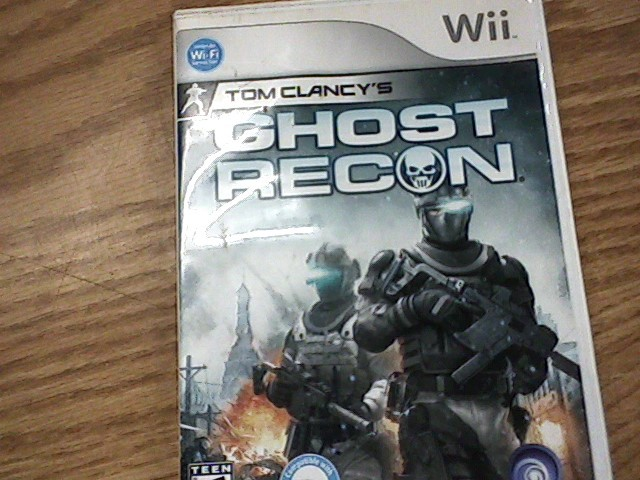 Nintendo Wii Game ghost recon