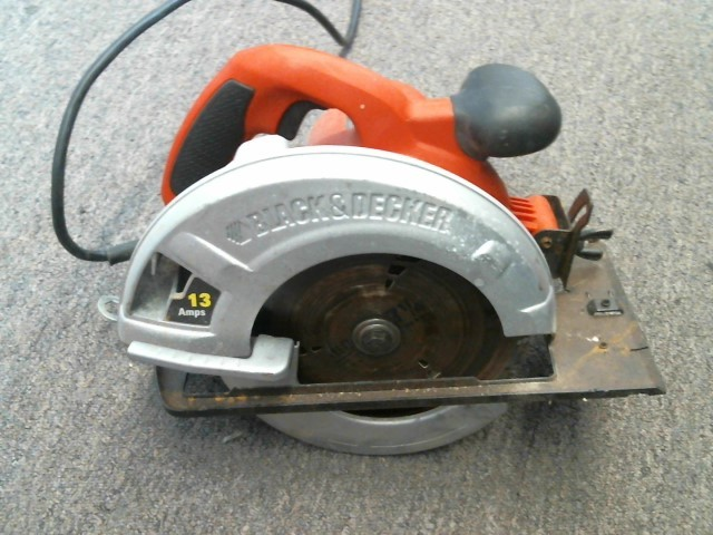 "BLACK&DECKER Circular Saw 7 1/4"" CIRCULAR SAW CS1010"