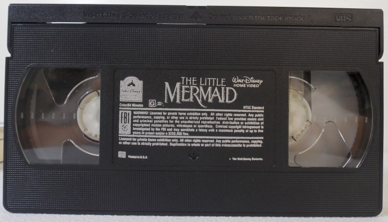 A WALT DISNEY CLASSIC VHS: THE LITTLE MERMAID
