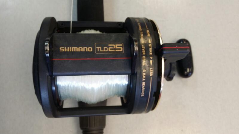 SHIMANO TLD25 W/7 FT BETTS ROD