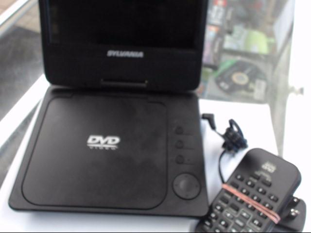 SYLVANIA Portable DVD Player SDVD7014