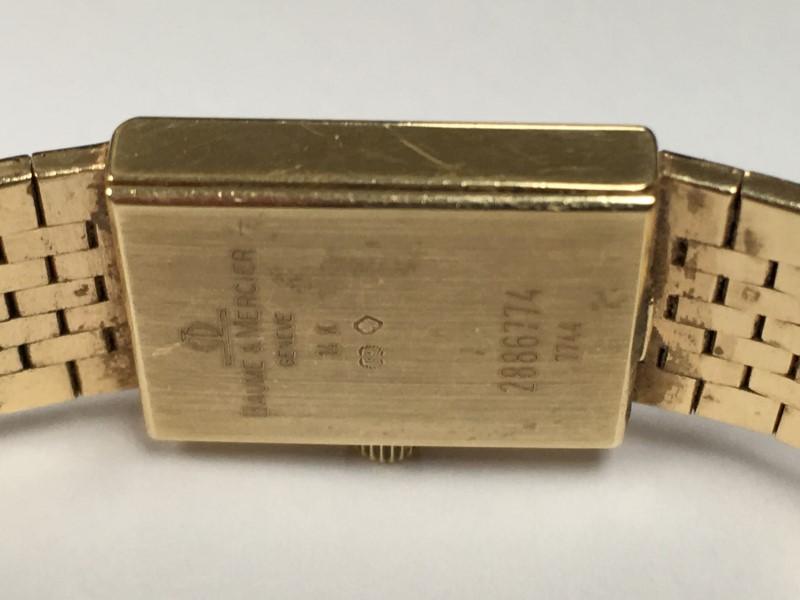 BAUME & MERCIER 7744 Ladies Watch 14K Yellow Gold 38.3g