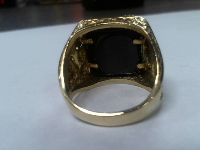 Gent's Gold Ring 10K Yellow Gold 10.8g