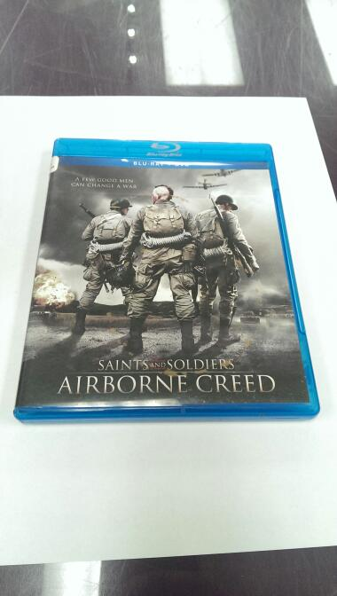 BLU-RAY SAINTS AND SOLDIERS AIRBORNE CREED